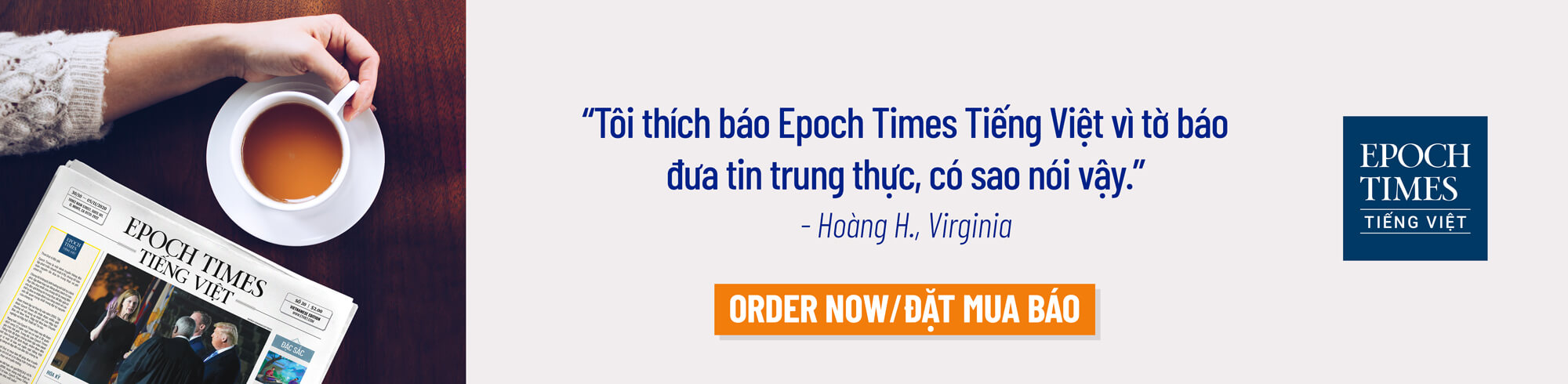 Subscribe Newspaper - Epoch Times Tiếng Việt